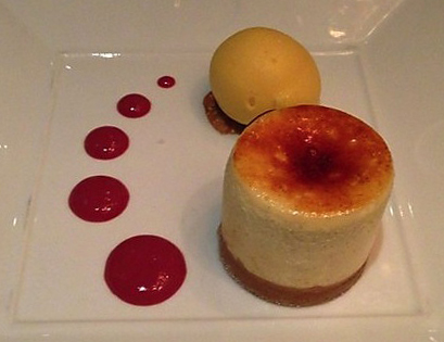 Nobu Cheesecake - Nobu Perth