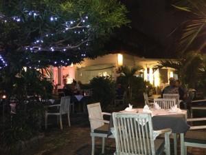 Outside setting of Pearl Restaurant