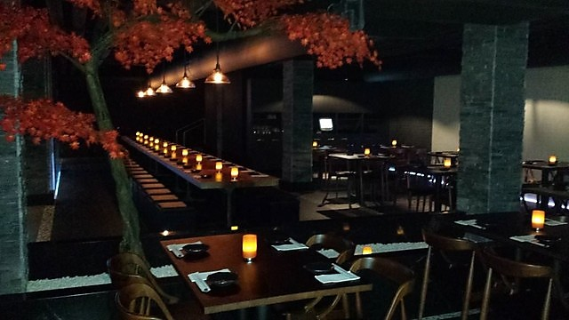 Interior shot of the Sushia Izakaya & Bar