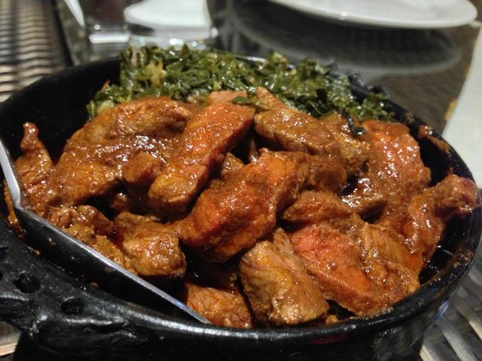 Goredgored - Pan fried tender beef served with awaze