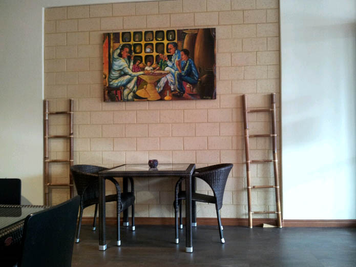 Interior of Echye's Restaurant