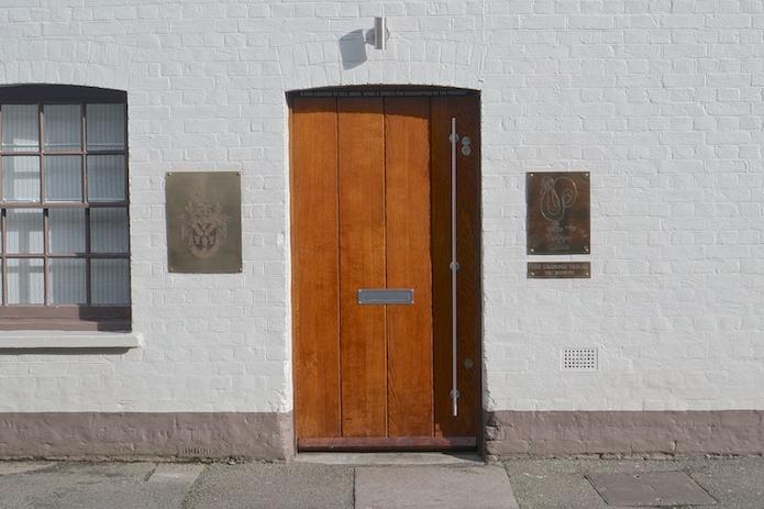 The door to Heston's magical feast