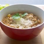 Abruzzese Rice and Celery Minestrone