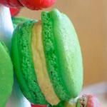 An Edible Christmas Tree - The Macaron Tower Sort