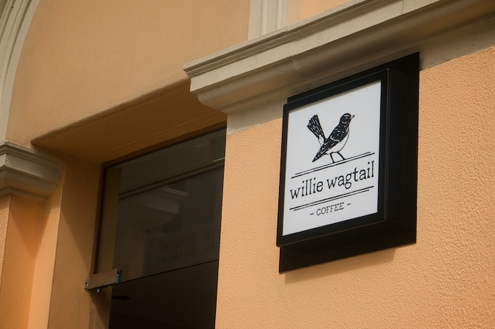 Willie Wagtail Perth - Exterior Sign
