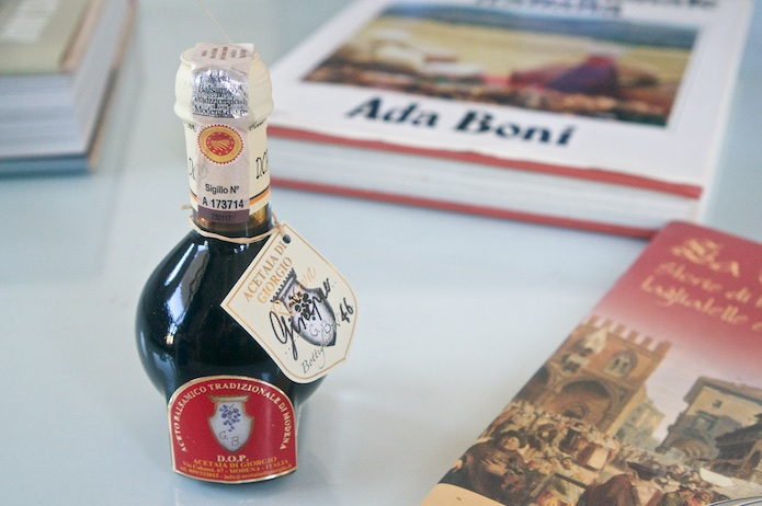 12 year old DOP balsamic vinegar from Acetaia di Giorgio