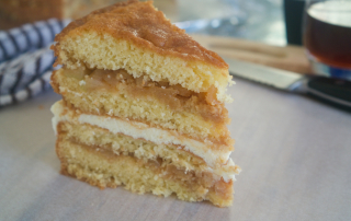 Ricotta and Caramel Apple Cake